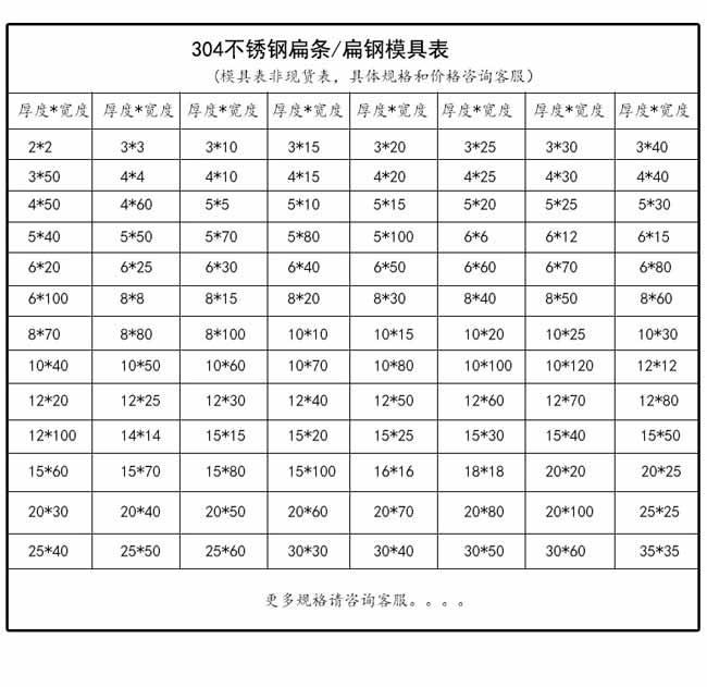 304不xiugang扁条专卖店